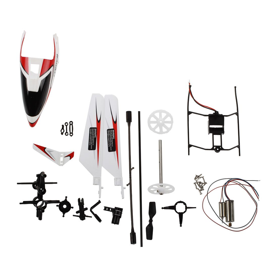V911helicopterAccessorieskitwithengines/screws