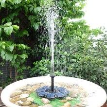 8 в Бесщеточный Фонтан Воды Плавающий Солнечный фонтан водонепроницаемый садовый водяной насос 180 л/ч птица для ванной пруд садовый декор водяной насос