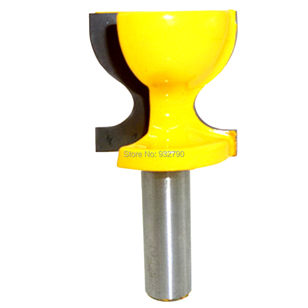 Hand & Power Tool Accessories Windowsill Stool Molding Router Bit 1/2 Shank Woodworkig Carbide Cutters Wooden Door Pull Chair Ridge Edge Knife Milling Cutter Fancy Colours