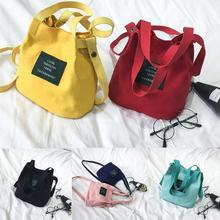 Lady Bolsa Feminina Canvas Messenger bag Single Shoulder