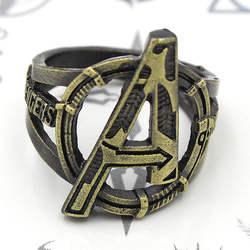 Marvel кольцо Мстителей 18 мм размер палец кольцо бронзовые кольца подарок костюм аксессуар Косплэй Collection