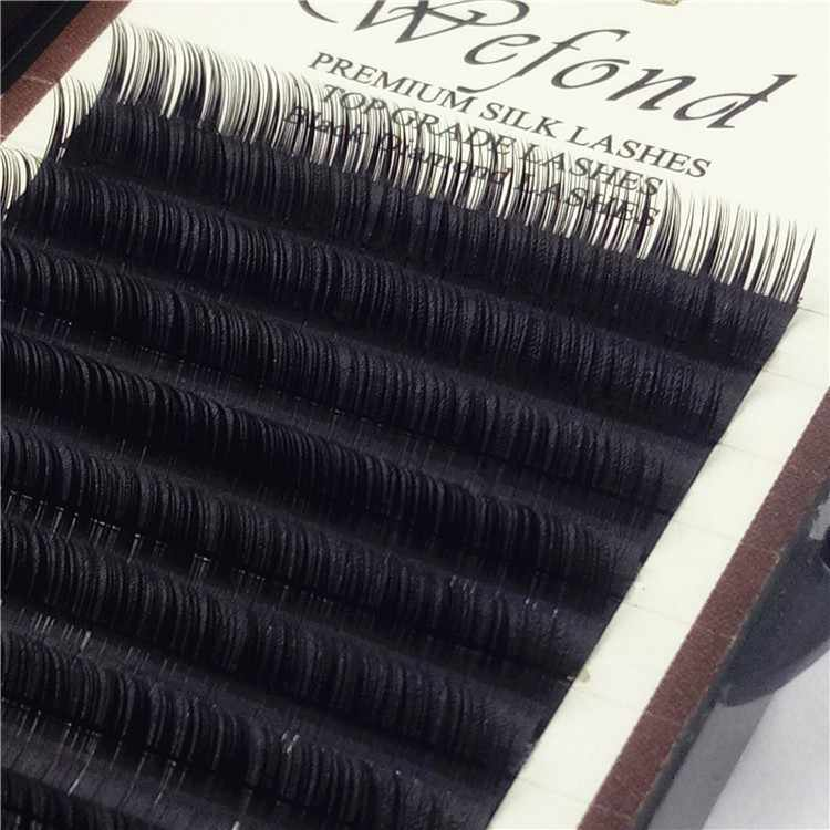 5392dfcc24f ... ZHIYOU Easy Pick Grafting Eyelashes Extensions Mix Individual Lashes  Mega Volume Silk Wollens D/D+ ...