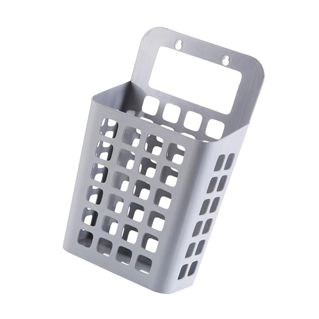 White Beige Gray Plastic Hanging Laundry Hamper Waterproof Clothes Storage Container Toys Books Garment