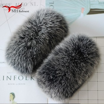 Really Fox Baby Leather And Fur Cuff Circle Cuff Hand Wristlet Really Leather And Fur Black White Baby Cuff Tops Hair Circle фото