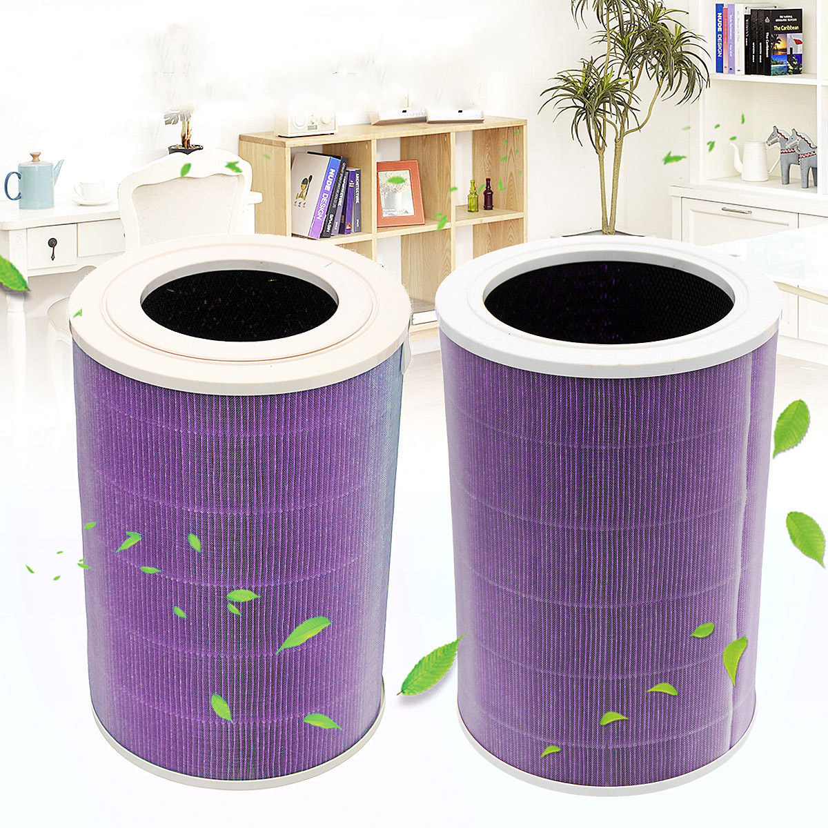 Filtre à Air cartouche élément filtrant pour Xiao mi mi purificateur d'air 1/2/Pro/2 S 3 couches filtre accessoires de nettoyage ménager