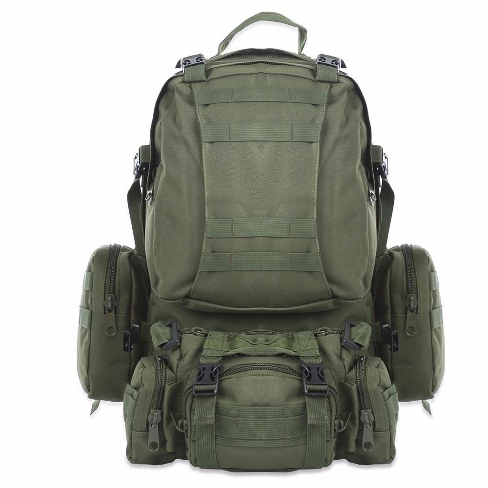 outlife 50l quente ao ar livre mochila molle militar tatico mochila saco de esportes a prova