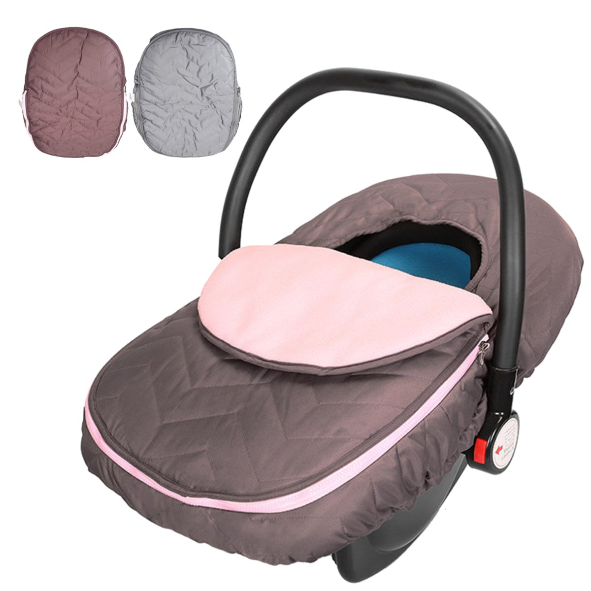 Universal Newborn Infant Car Seat Cover Polyester Travel
