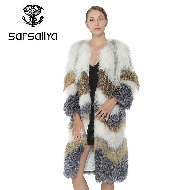 af0ac176cf réel renard chaud manteaux sarsallya chien femmes