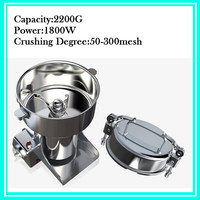 Swing Type 2200g Portable Corn Grinder Machine Martensitic Stainless Steel Electric Herb Miller Food Mill Pulverizer