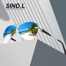 Mens / Womens Pilot Polarized Sunglasses Men UV400 Lens Alloy Classic Designer Eyewear Accessories Fashion SL743