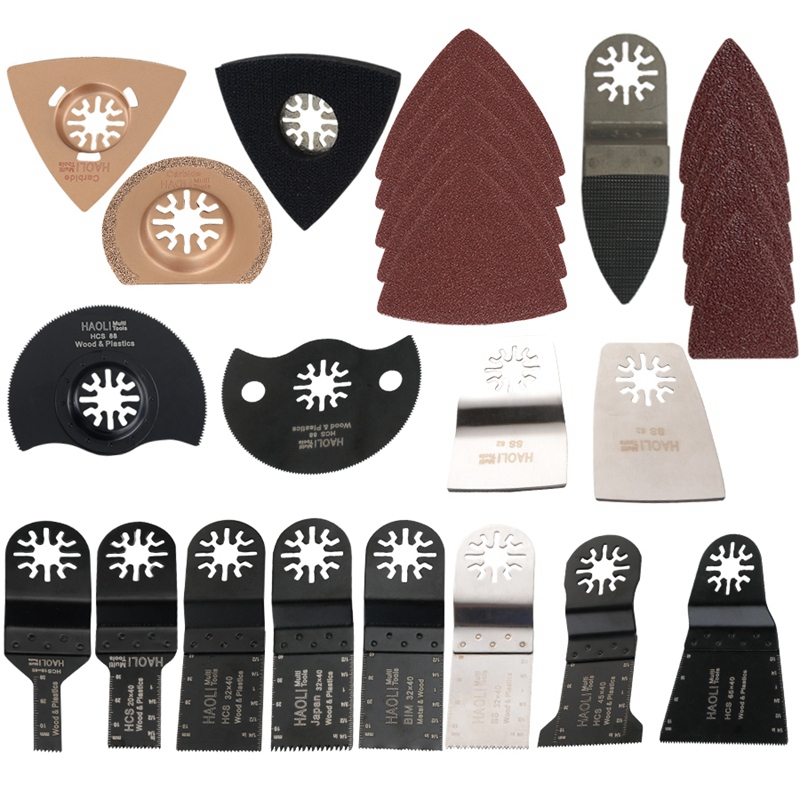 Popular 66 Pcs Oscillating Tool Saw Blades For Renovator Power Tools As Fein Multimaster,Electric Tools Accessories