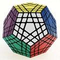 Shengshou 5 Schritte Magie Zappeln Cube 12 Seiten Megaminx Gigaminx 5x5 Professionelle Dodekaeder Cube Twist Puzzle Pädagogisches Spielzeug