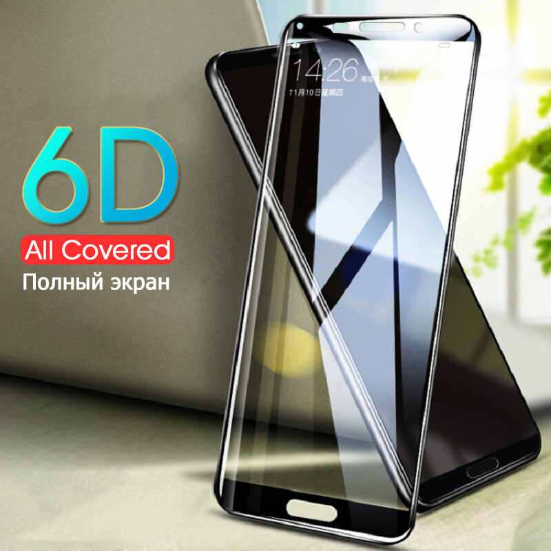 6D Screen Protector Glass On For Huawei Mate 8 10 9 Lite 10 Pro Full Cover Tempered Glass For Huawei Honor 8 9 Lite 10 V10 Film