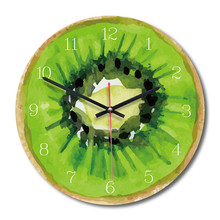 New 3D Wall Clock Simulation Fruit Modern Design Nordic Quartz 28cm For Living Room Accept Dropshipping
