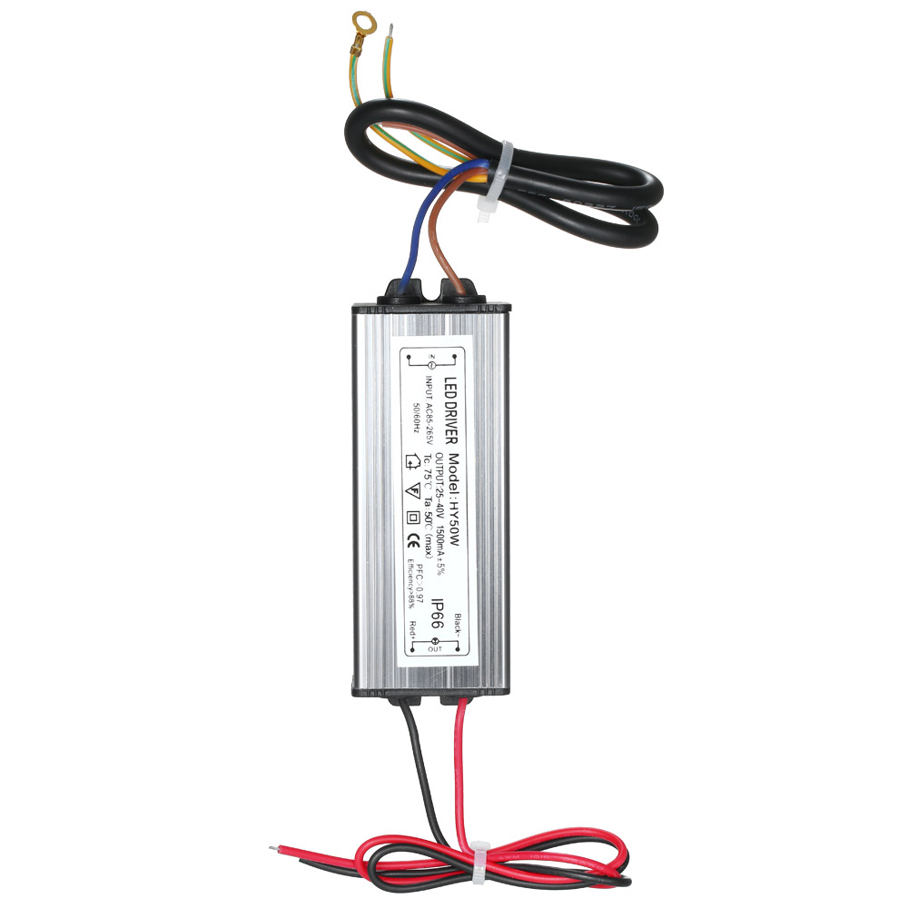 50w constant current driver power supply adapter transformer switch for led exihibition lamp