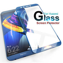 2.5D honor9 For Huawei p20 lite Case Tempered Glass For Huawei p9 8 lite 2017 honor 8 9 10 lite honor8 Cover 9H Protective Glass(China)