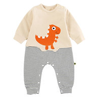 Cute Cartoon Cotton Baby Boys And Girls Long Sleeve Romper Newborn Infant Rompers Outfits