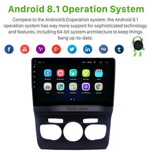 Image 2 - Seicane 10.1 inch HD Touchscreen Android 9.1 GPS Navigation System Wifi Bluetooth Car Radio For 2013 2014 2015 2016 Citroen C4