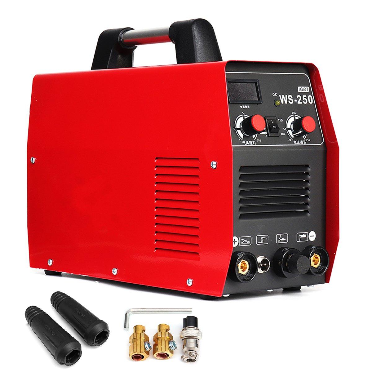2 in 1 220 v 250A MMA IGBT Bastone Saldatore Inverter Ad Arco di Saldatura Elettrica Macchina per la Saldatura di Lavoro e di Elettrico di lavoro