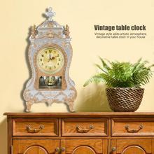 Reloj despertador de escritorio, reloj Vintage clásico, sala de estar, armario de TV, Escritorio, Muebles imperiales, reloj de péndulo de asiento, nuevo