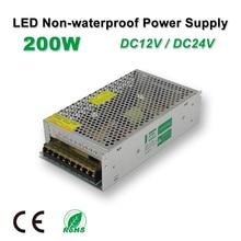 цена на 200W LED Power Supply,LED Strips Drive,DC12V/24V,Non-Waterproof,Adapter transformer,IP20,Indoor Use,for LED Linear light,panel