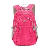 Girl Multipurpose Dot Primary Junior High University School Bag Bookbag Backpack