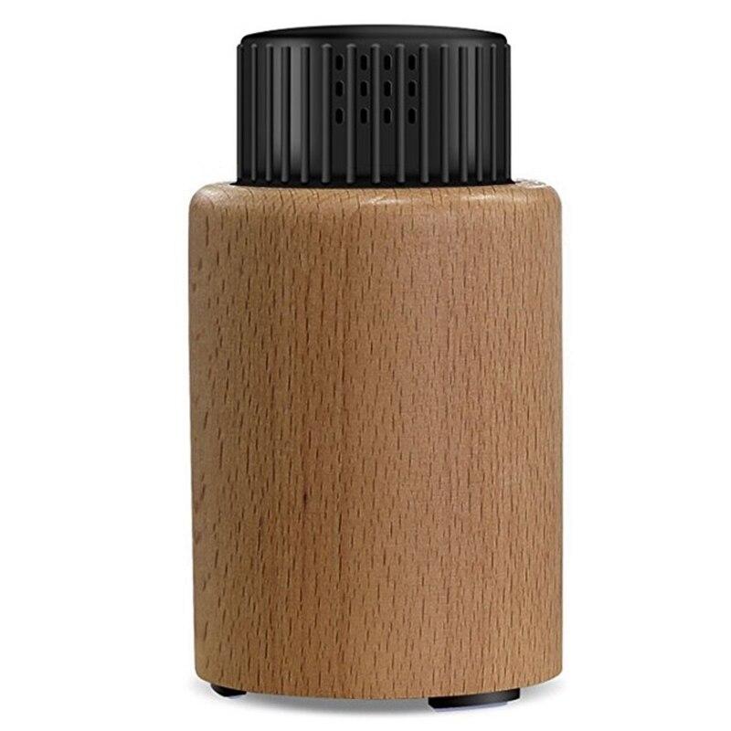 Apuesto Sin Agua Mini Aromaterapia Difusor De Aceite Esencial Difusor Aromaterapia De Aceite De Aroma De Nebulización Diffuseur Luz Usb De Madera Para El Hogar Los Colores Son Sorprendentes