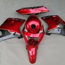 Набор обтекателей кузова мотоцикла для Honda CBR1100XX Blackbird 1997-2007 CBR 1100XX 97-07 красный Обтекатель Набор литья под давлением