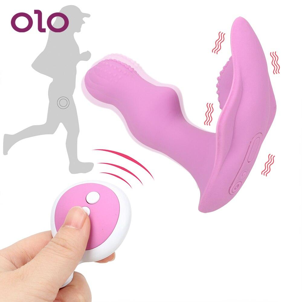 OLO Wearable Vibrador Remoto Sem Fio Vibrador Vibrador Brinquedos Sexuais Eróticos para Mulheres Masturbador Feminino Clitóris Estimulador 10 Velocidades