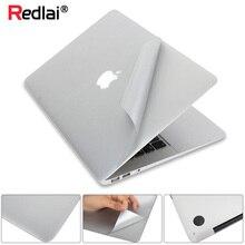 Наклейка для ноутбука MacBook Pro 16 13 дюймов A2141 A2159 верхний и нижний виниловый кожаный чехол Air 13 дюймов A1932 retina дисплей