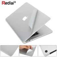 Etiqueta do portátil para macbook pro 16 13 polegada 2019 a2141 a2159 superior & inferior capa de pele vinil novo ar 13 polegada a1932 retina exibição