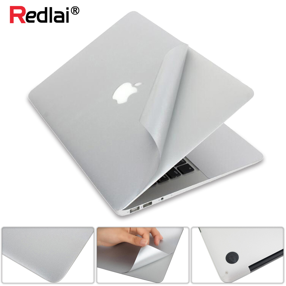 For Macbook Pro 13 15 Retina New 12 Full body Vinyl Skin Cover Protector Sticker For Mac book Guard Case Bottom Cover Air 11 13