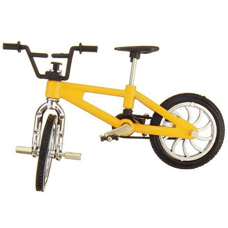 Ретро Мини Пальчиковый BMX велосипед в сборе модель велосипеда игрушки Флик Трикс пальчиковые велосипеды игрушки BMX велосипед Новинка кляп и...