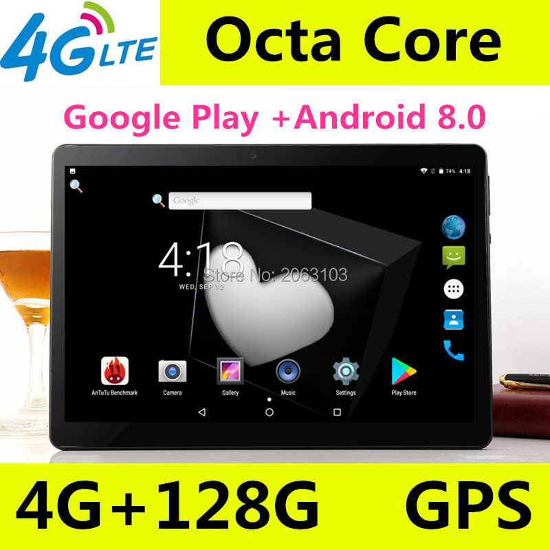 New 10 inch Octa Core 3G/4G Tablet pc 4GB RAM 128GB ROM 1920*1200 Dual Cameras Android 8.0 Tablets 10.1 inch Free ShippingNew 10 inch Octa Core 3G/4G Tablet pc 4GB RAM 128GB ROM 1920*1200 Dual Cameras Android 8.0 Tablets 10.1 inch Free Shipping