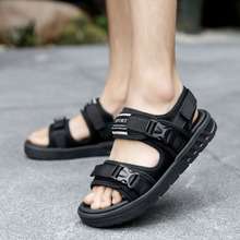 Loveontop/ г. Летние мужские модные пляжные сандалии повседневные мужские сандалии на резиновой подошве Большие размеры 38-46