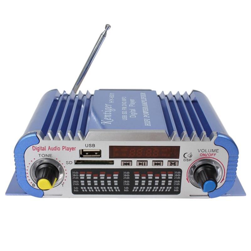 Kentiger HY-601 Digital HI-FI Auto Car Stereo Power Amplifier USB SD Player Dac