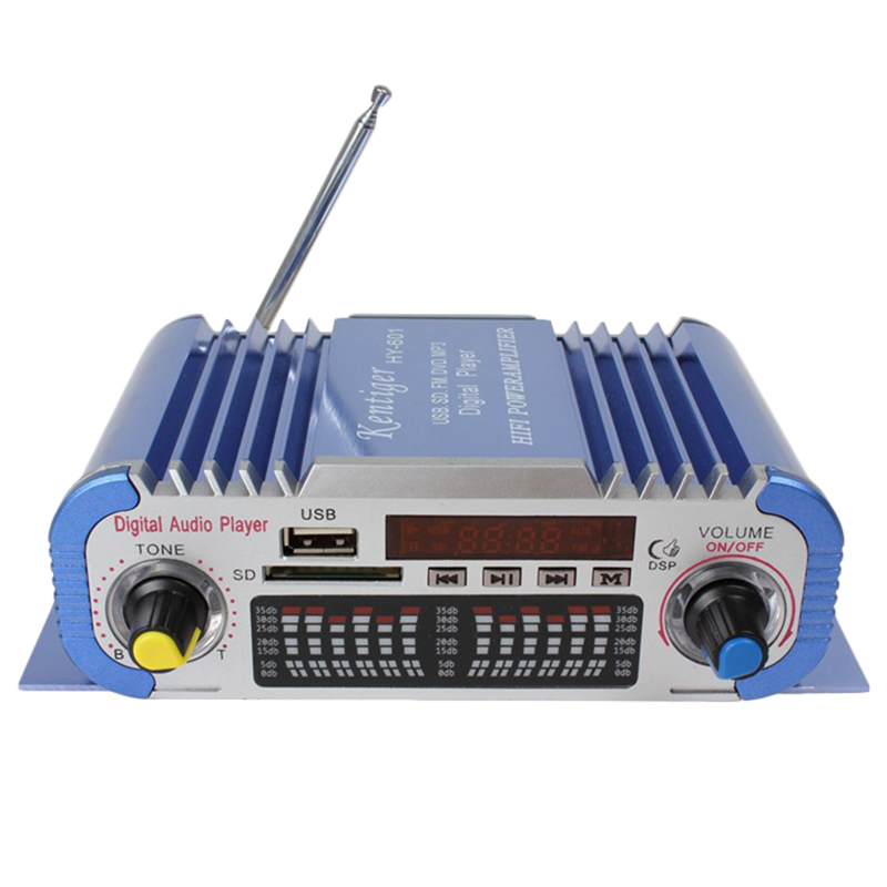 Kentiger Hy-601 Digitale Hallo-fi Auto Auto Stereo Power Verstärker Usb Sd-player Dac
