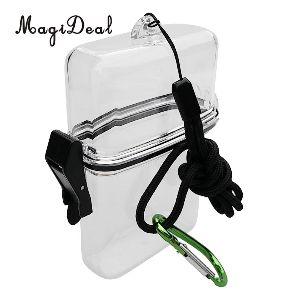 Dry Bottle Box Waterproof Container Holder for Scuba Dive Kayak Surf Floats