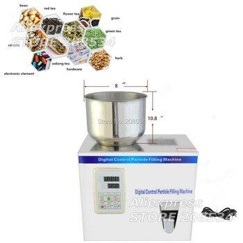 2-200g tea weighing machine,grain,medicine,seed,salt packing machine,powder filler 200g