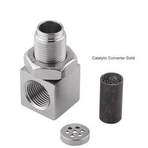 Image 4 - SPEEDWOW Universal Oxygen Sensor Extender 90 Degree 02 Bung Extension Catalytic Converter O2 Oxygen Sensor Spacer