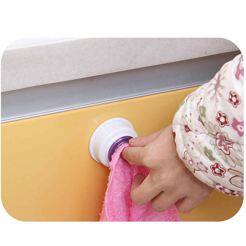 Wash Cloth Clip Holder Dish clout Storage Rack Bathroom Kitchen Storage Hand Towel Racks Clips WXV Sale