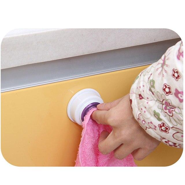 Wash Cloth Clip Holder Dish clout Storage Rack Bathroom Kitchen Storage Hand Towel Racks Clips WXV Sale