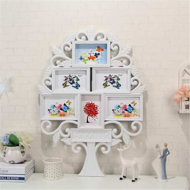 2019 New 3D Family Tree Photo Frame Wall Stickers Memory Tree Wall Stickers Home Decor Art Picture Frame Wall Decal Posters