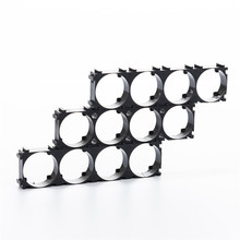 500pcs 3 hole 21700 Battery Cell Holder Safety Spacer Radiating Shell Storage Bracket