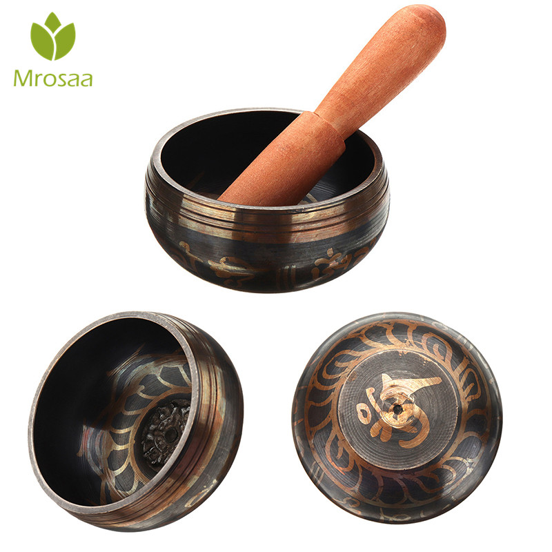 8cm-17.5cm Buddhism Tibetan Bowl Copper Singing Bowls Fornasetti Handmade Decorative-wall-dishes Home Decoration Yoga Bowl