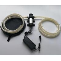 12V 40W 12L/min gasoline oil pump large flow electric diesel pump car oil pump set with 12mm pipe