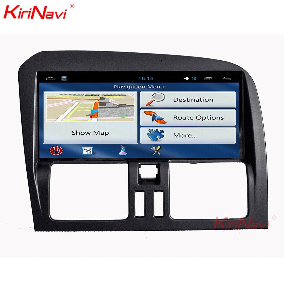KiriNavi 8,8 дюймов широкий экран Android 9,0 автомобильный радио мультимедиа для Volvo XC60 навигация gps Bluetooth DVD плеер 2009-2015