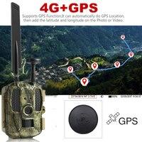 Newest Hunting camera GPS Wireless 4G FDD LTE Remote APP Control Camo Hunting Game Trail Camera Wildlife Photo trap 4G 3G HD