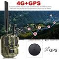 Nieuwste Jacht camera GPS Draadloze 4G FDD LTE Remote APP Controle Camo Jacht Game Trail Camera Wildlife Foto val 4G 3G HD