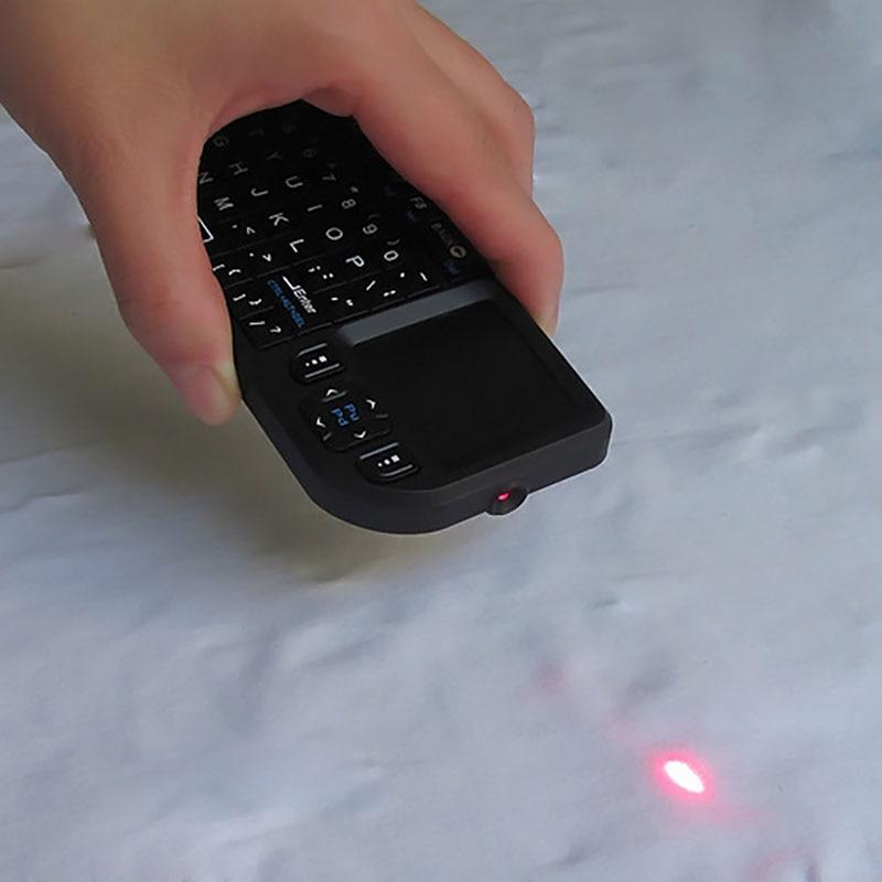 Hermoso Original Nuevo Mini 2,4g Teclado Inalámbrico Touchpad Backlight Para Smart Tv Para Samsung Lg Panasonic Android Tv Box Pc Portátil Htpc Los Pedidos Son Bienvenidos.